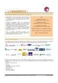 / L'INDONESIE / - ILE-DE-FRANCE INTERNATIONAL - Page 2