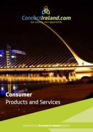 Consumer Products and Services - ConnectIreland