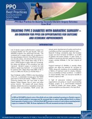 TreaTing Type 2 DiabeTes wiTh bariaTric surgery – - Aappo