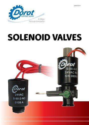 SOLENOID VALVES - Dorot Control Valves