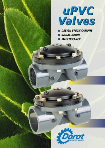 uPVC English.indd - Dorot Control Valves