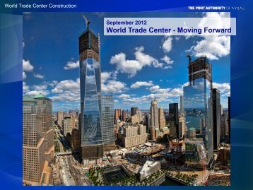 World Trade Center - Moving Forward - drbfconferences.org