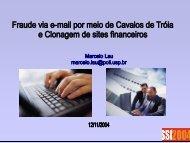 slides (PDF 3 MB) - CERT.br