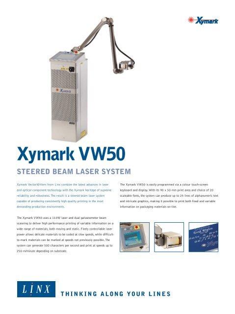 Xymark VW50 - linx