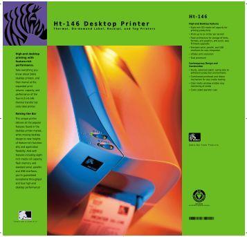 Ht-146 Desktop Printer