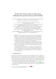 H.264/AVC Based Video Coding Using Multiscale Recurrent ...