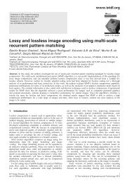 Lossy and lossless image encoding using multi-scale ... - UFRJ