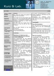 Juni 2009 - Institut für Medizinische Diagnostik Oderland