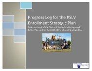 Enrollment Progress Log 2012-13- Data Inputted