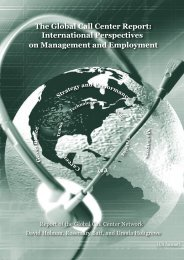 The Global Call Center Report: International Perspectives on ...