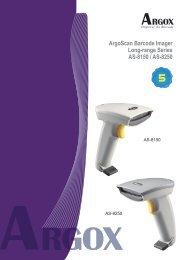 ArgoScan Barcode Imager Long-range Series AS-8150 / AS-8250