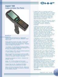 Dolphin® 7450 Coletor de Dados Tipo Pistola