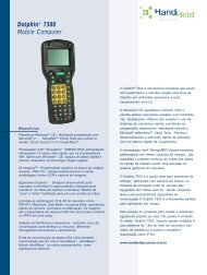 Dolphin® 7300 Mobile Computer
