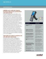 MC9090-G Datasheet-Portuguese - Motorola Solutions
