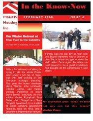 February 2008 - Praxis Housing Initiatives, Inc.