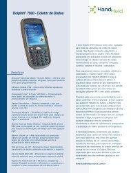 Dolphin® 7900 - Coletor de Dados
