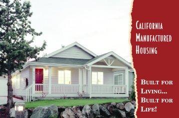 CMHI Brochure - California Manufactured Housing Institute