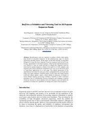SeqTrim - Departamento de Biología Molecular y Bioquímica