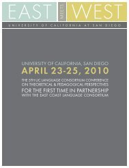 april 23-25, 2010 - The University of California Consortium for ...