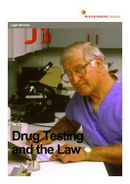 Drug Testing and the Law.pdf