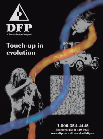 Touch-up in evolution - Dover Finishing Products