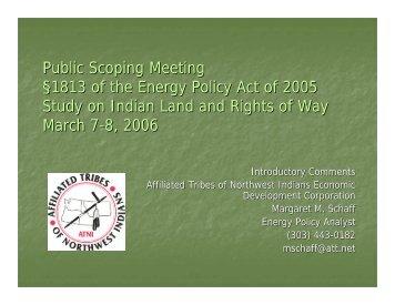 Affiliated Tribes of Northwest Indians Economic Development ...