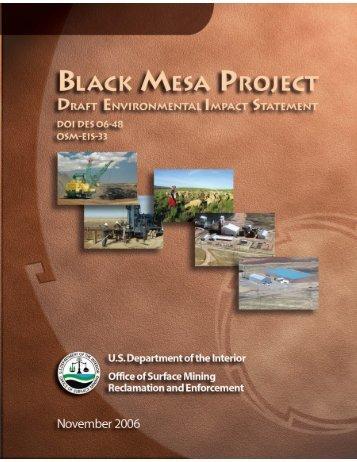 Black Mesa Draft EIS - Tribal Energy and Environmental Information ...