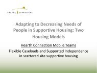 Supported Independence - Corporation for Supportive Housing