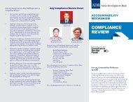 COMPLIANCE REVIEW - ADB Compliance Review Panel - Asian ...