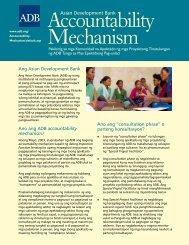 Asian Development Bank - ADB Compliance Review Panel