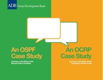 Accountability Mechanism Brochure - ADB Compliance Review Panel