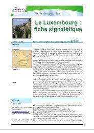 Le Luxembourg : fiche signalétique - ILE-DE-FRANCE ...