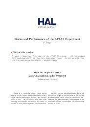 Status and Performance of the ATLAS Experiment