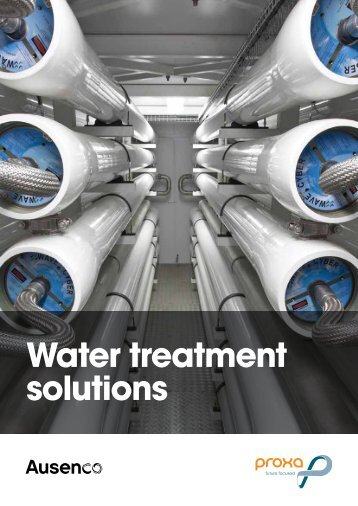 water treatment solutions brochure - Ausenco