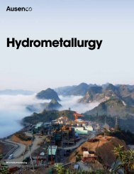Hydrometallurgy - Ausenco