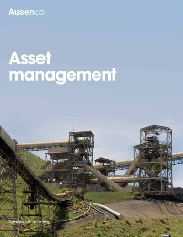asset management brochure - Ausenco