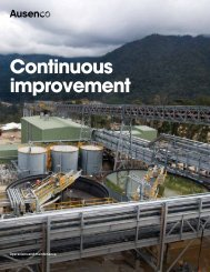 continuous improvement brochure - Ausenco