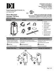 Installation - Type A - EN132 Installation Instructions - Dodge ...