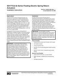 Type B - ES177C2 Installation Instructions - Dodge Engineering ...