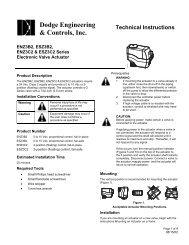 Type A - EN-ESZ3B2, EN-ESZ3C2 Installation Instructions - Dodge ...