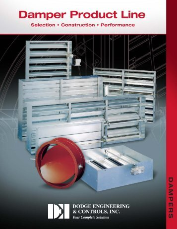Damper Products - Dodge Engineering & Controls, Inc.