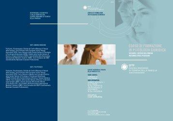 Scarica depliant - Centro padovano di terapia della famiglia