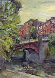 André Krigar, Bekenntnisse eines Stadtmalers - Galerie Rose