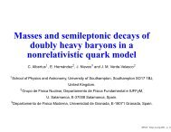 Masses and semileptonic decays of doubly heavy baryons in a ...