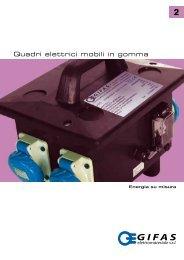 Quadri elettrici mobili in gomma - Gifas Elettromateriale Srl