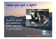 Have you got a light? - Cedostar
