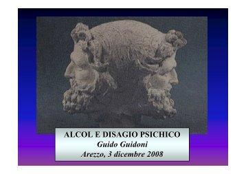 ALCOL E DISAGIO PSICHICO Guido Guidoni Arezzo, 3 ... - Cedostar