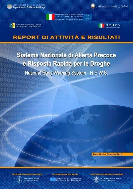 Report 2013 Sistema Nazionale Allerta Precoce e ... - CesDop