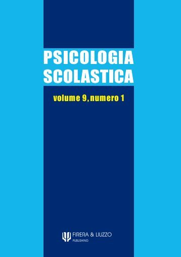 PSICOLOGIA SCOLASTICA - Educazione.it