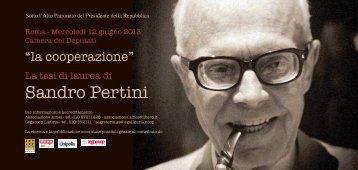 Sandro Pertini - Legacoop Lazio